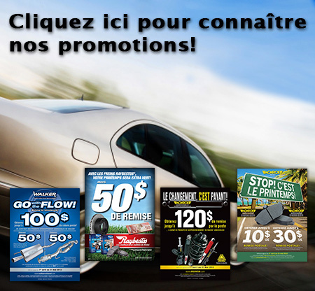 Promotions garage Auto-Select ste-marie